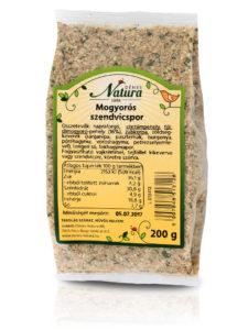 Mogyorós szendvicspor 200 g