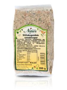 Shiitakegombás szendvicspor 200 g